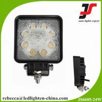 China LED hight power car head light waterproof 24w off road led work light on sale