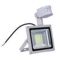 China CN Ship Sensor Led Flood light outdoor lights 30W 220V 1800LM 60LED SMD5730 Floodlights For street Square Highway Wall wholesale