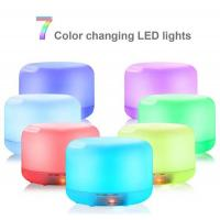 Buy cheap 500ml Aromatherapy Essential Oil Diffuser Humidifier Room Decor Lighting with 7 LED Color product