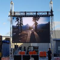 Buy cheap Full Colour Led Video Wall Rental , Outdoor Led Screen For Car Show / Stage from wholesalers