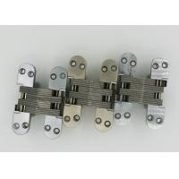 Buy cheap 118mm Length Soss Type Zamak 180 Degree Concealed Hinge / Invisible Hidden Hinges product