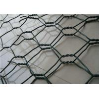 PVC Coated Galfan Gabion Wire Mesh 2 X 1 X 0.5 M For River Protection