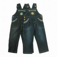 Buy cheap Jeans Pants for Boys, Suspender jeans, Overalls/Original Fashionable Design, OEM/ODM Orders Welcomed product