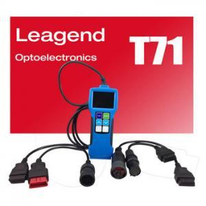 Buy cheap Outil diagnostique résistant T71 de scanner de lecteur de code du camion OBD2 avec une interface de 16 bornes product