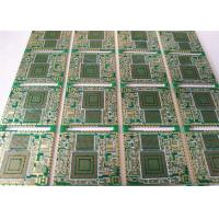 Buy cheap 1OZ ENIG2U'' HDI Printed Circuit Boards 0.1mm Dril Holes Layer 6 ROHS Compliant product