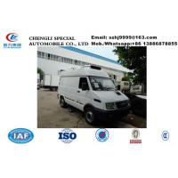 2019s best price IVECO 4*2 LHD diesel refrigerated minivan  for sale, Wholesale price 2tons IVECO cold room truck