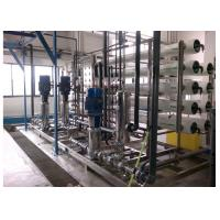 Quality HMI touch screen Hot water sterilize EDI Water Treatment for pharmacy 15m3/h for sale