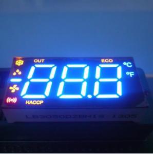 Buy cheap Triple Digit Multiple Colour Common Cathode Seven Segment Display Home Applicaties product