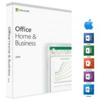 Buy cheap PC Platform Microsoft Office License Key Office 2019 Home And Business Keycard from wholesalers