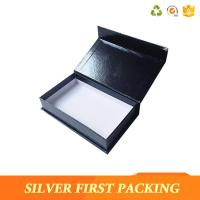 Buy cheap Silver First  accept custom made logo printing decorative book shape magntic paper storage gift boxes product