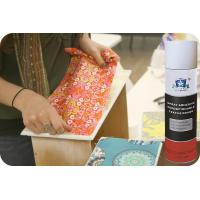 Buy cheap Repositionable Fabric Adhesive Spray No CFC Textile Spray Contact Adhesive product