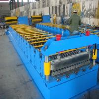 Approx9m*1.8m*1.5m Steel Tile Corrugated Roll Forming Machine with Colored Steel Plate