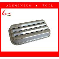 Quality Elegant Embossed Square Aluminum Foil Grill for sale