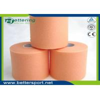 China Orange Colour Foam Bandage Underwrap Sports Tape Bandage 7cm x 27m Athletic Taping For Outdoor Activities wholesale