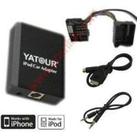 Buy cheap iPhone/iPod interface(CD changer adapter) for BMW 40 way Flat Pin product