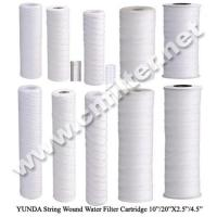 China PP Sediment String Wound Water Filter Cartridge on sale