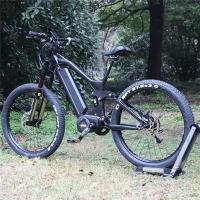 China 27.5 Inch Electric Fat Tire Mountain Bike 1000w 48v With BAFANG Middle Motor on sale