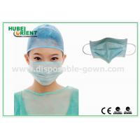 Buy cheap 3- Ply Disposable medical Face Mask EN 14683 Type IIR/Surgical disposable face from wholesalers