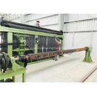 Buy cheap Horizontal Type Gabion Box Machine Three Twist Smooth Running For Chicken Cages product