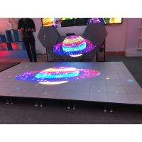Buy cheap New dance floor P6.25 interactive led floor with special design suppor video Full color display screen for show stage from wholesalers