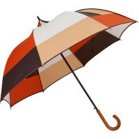 Buy cheap Wooden Handle Folding Golf Umbrella Woman , Lightweight Golf Umbrella Alternativ from wholesalers
