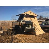 Buy cheap Water Resistant 4x4 Roof Top Tent Easy Operate With Side Awning CE Certificated product