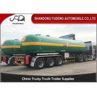 Buy cheap Fudeng 3 Axles Max 25Tons / 60m3 / 60000Liters Lpg Propane Tanker  , LPG Transport Trailer product