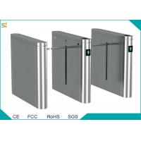 Buy cheap Intelligent Drop Arm  Automatic Turnstile Door Entry System Rfid Interface product