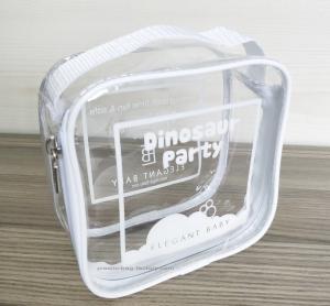 Buy cheap 100% handmade Transparent PVC Reusable Ziplock Bags 14*14*7 CM from wholesalers