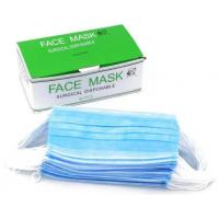 Buy cheap Elastic Closure Disposable Blue Mask , Disposable Mouth Mask Moisture Proof product
