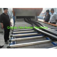 China Flexible Elastomeric Thermal Rubber Foam Machine Insulation Pipe Extrusion Line wholesale