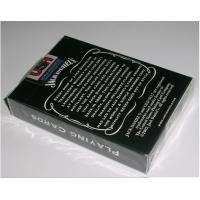 Buy cheap Paper Invisible Jack Daniel's Marked Barcode Playing Cards For Poker Reader and Scanners product