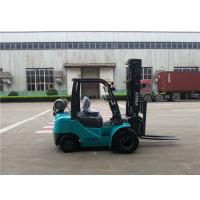 Buy cheap Automatic Transmission Lp Gas Forklift Unloading Truck Dual Front Tires product