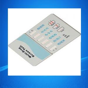 Buy cheap Drug Test Kits/Six Panel Drug Abuse Test Kits / Drug Testing Kits product
