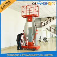 Buy cheap High Strength Aluminum Alloy Mobile Lifting Table , Electric Hydraulic Motorcycle Lift Table  product