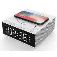 Buy cheap DIY 4.2 Creative Bluetooth Speakers With Mobile Phone Wireless Charger / Alarm Clock product