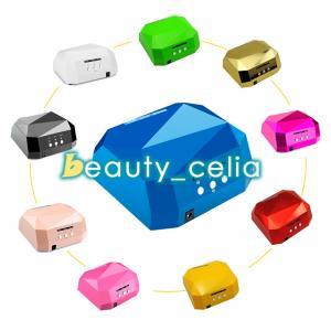 China 36W LED CCFL Nail Dryer Diamond Shape Curing Machine for UV Gel Lamp Nail Polish on sale