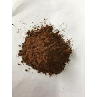 China Dark Brown Natural Cocoa Powder / Alkalized Cocoa Powder PH Value 6.2-7.6 on sale