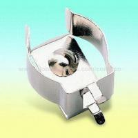 China Nickel-plated Battery Clip/Holder for One AA Battery, OEM Orders are Welcome on sale