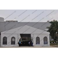 Buy cheap White Color Aluminum Big Builders Warehouse Tents With Soft PVC Fabric Windows product