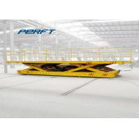 Buy cheap Hydraulic Flat Heavy Duty Plant Trailer Material Scissor Handling And Lifting Equipment product
