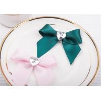 Buy cheap Decoration Tie Satin Ribbon Bow Washable?Home Textile With Dyeing product