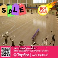 Buy cheap PROFESSIONAL BASKETBALL SPORTS FLOORING/WOODEN PATTERN PVC FLOORING product