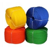 China PP PE PET Monofilament Fishing Line Rope Low Stretch Customized Color on sale