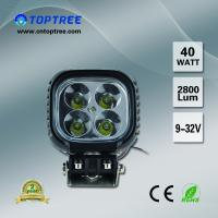 China 40W Offroad Cree LED Work Lights Toptree LED Driving Light For Tractor on sale