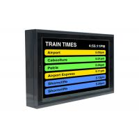 Buy cheap LCD Train Station Digital Signage Passenger Information Display 1920*1080 product