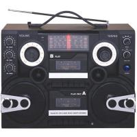 China Professional Multi-Band Portable Radio Cassette Recorder Player With Double Cassette Recorders (AY-3900B) on sale