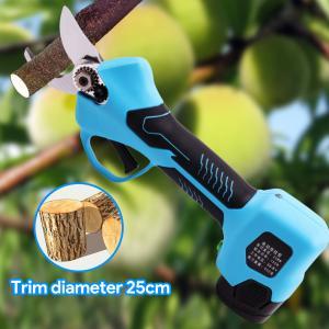 Buy cheap 25mm de diámetro de corte electric tijeras de podar tijeras de la batería de litio product