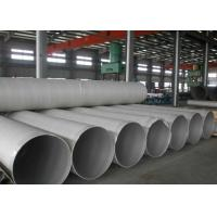 Buy cheap 304 Welded Stainless Steel 316 Pipe Thickness 10mm 06 cr17ni12mo2 Annealed product