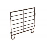 Buy cheap 6 Rails Metal Fence Panels For Livestock , Powder Coated Rural Farm Fencing product